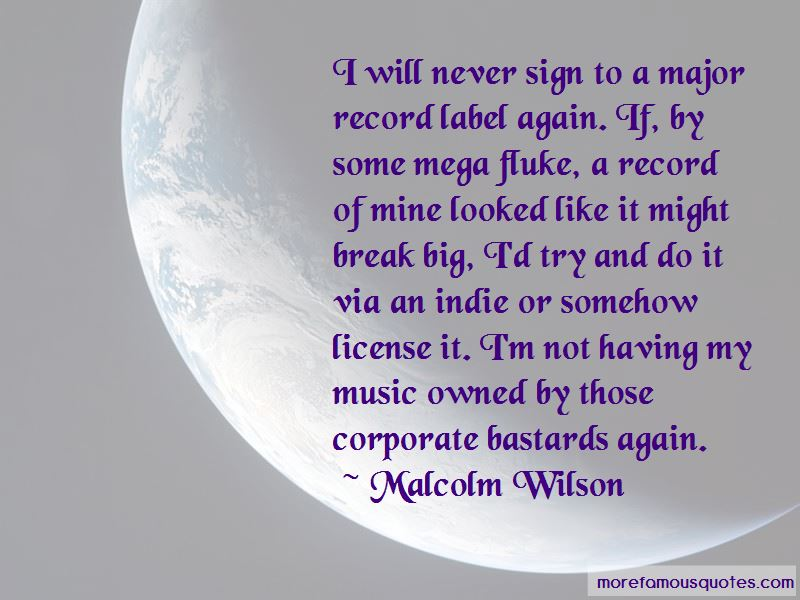 Malcolm Wilson Quotes Pictures 4
