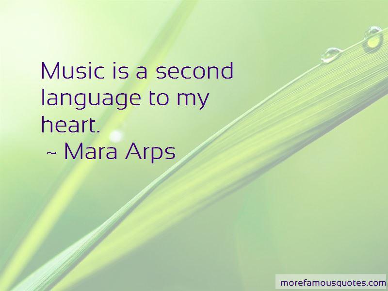 Mara Arps Quotes