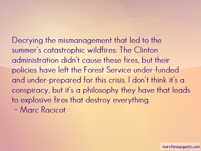 Marc Racicot Quotes Pictures 3
