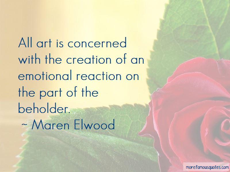 Maren Elwood Quotes Pictures 4