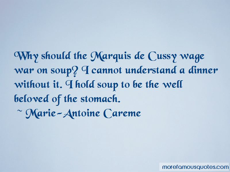 Marie-Antoine Careme Quotes Pictures 2