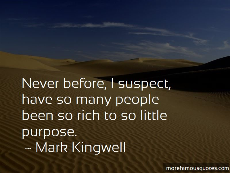 Mark Kingwell Quotes Pictures 2
