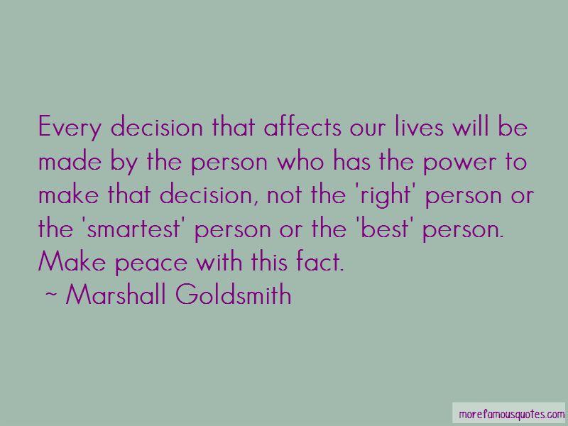 Marshall Goldsmith Quotes