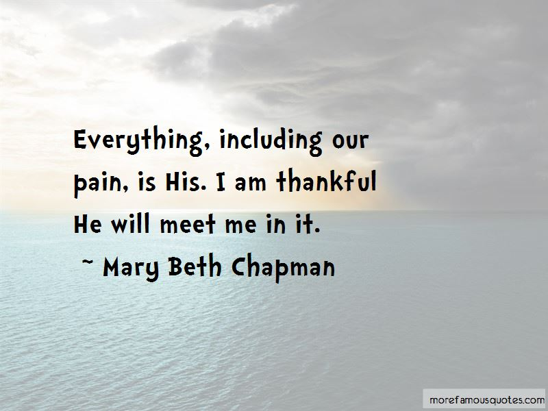 Mary Beth Chapman Quotes Pictures 2