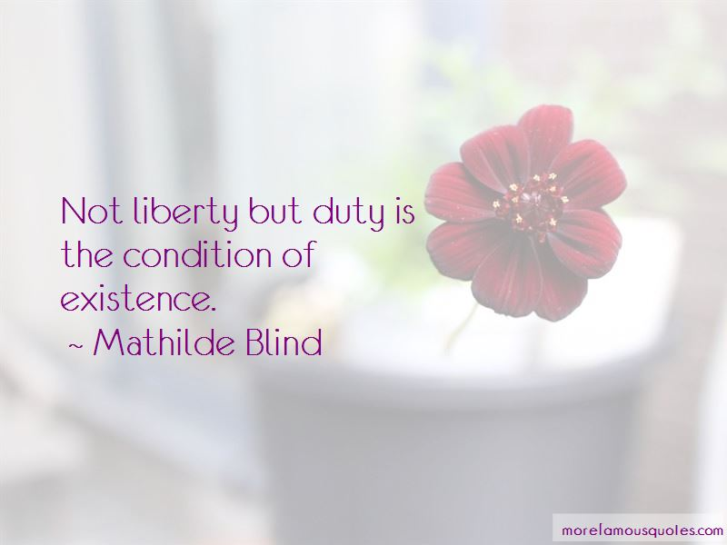 Mathilde Blind Quotes