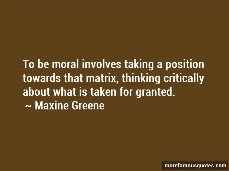 Maxine Greene Quotes Pictures 2
