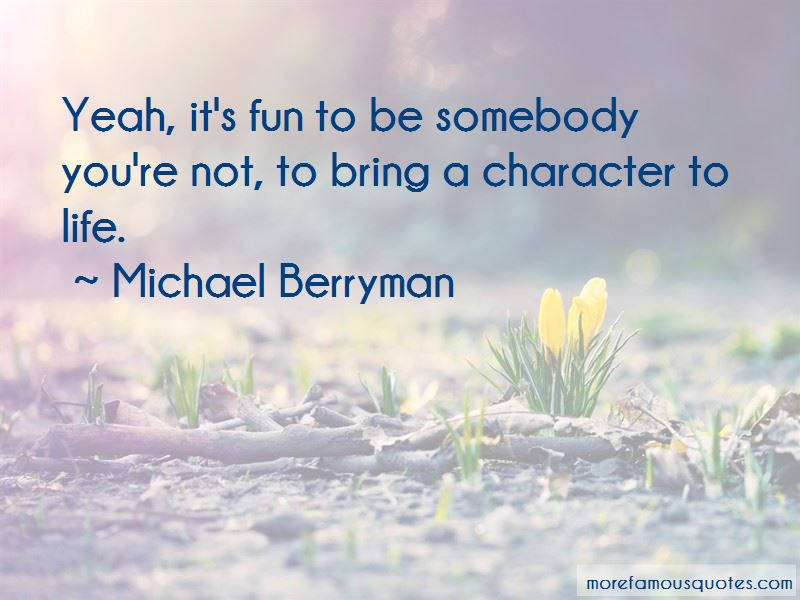 Michael Berryman Quotes Pictures 2