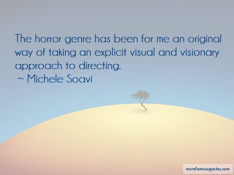 Michele Soavi Quotes
