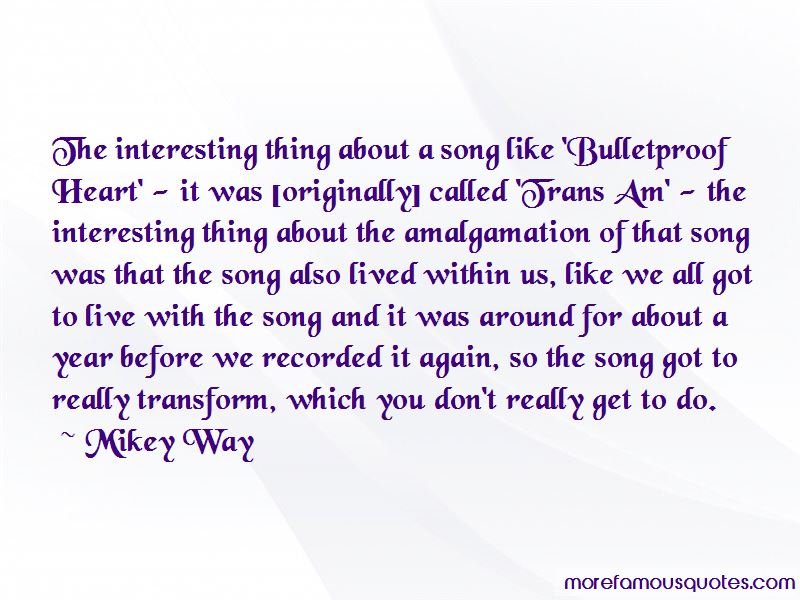 Mikey Way Quotes
