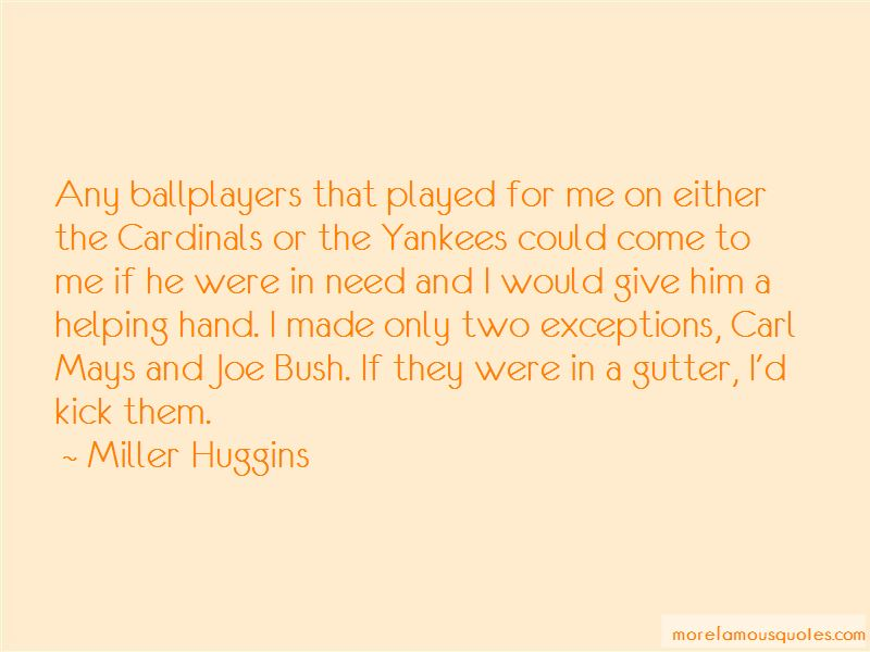 Miller Huggins Quotes Pictures 2