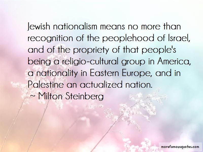 Milton Steinberg Quotes Pictures 3