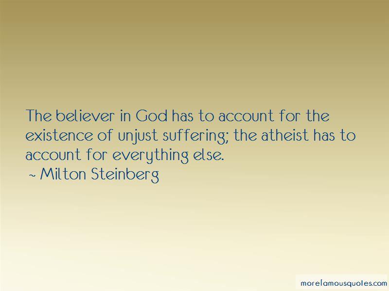 Milton Steinberg Quotes Pictures 4