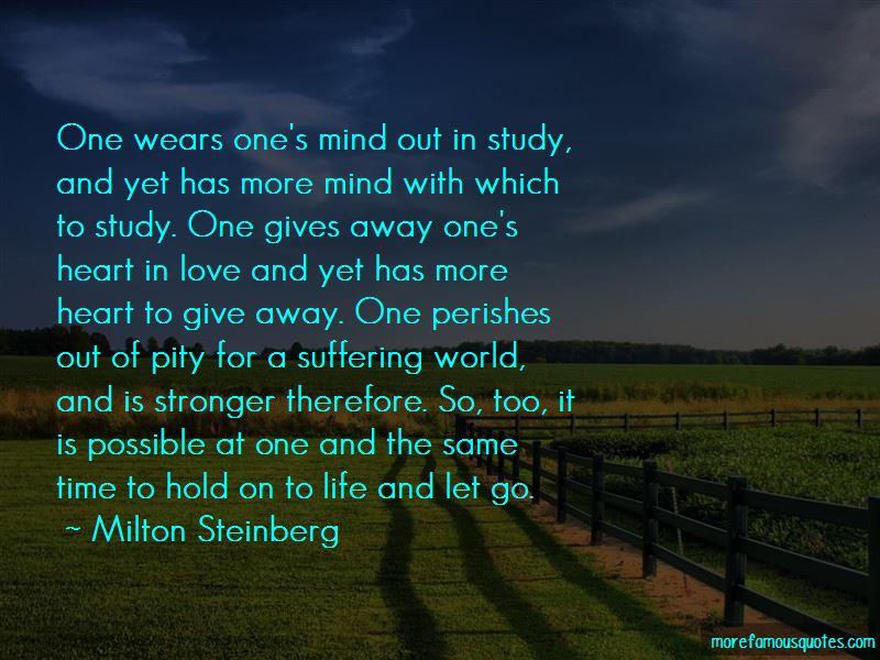 Milton Steinberg Quotes