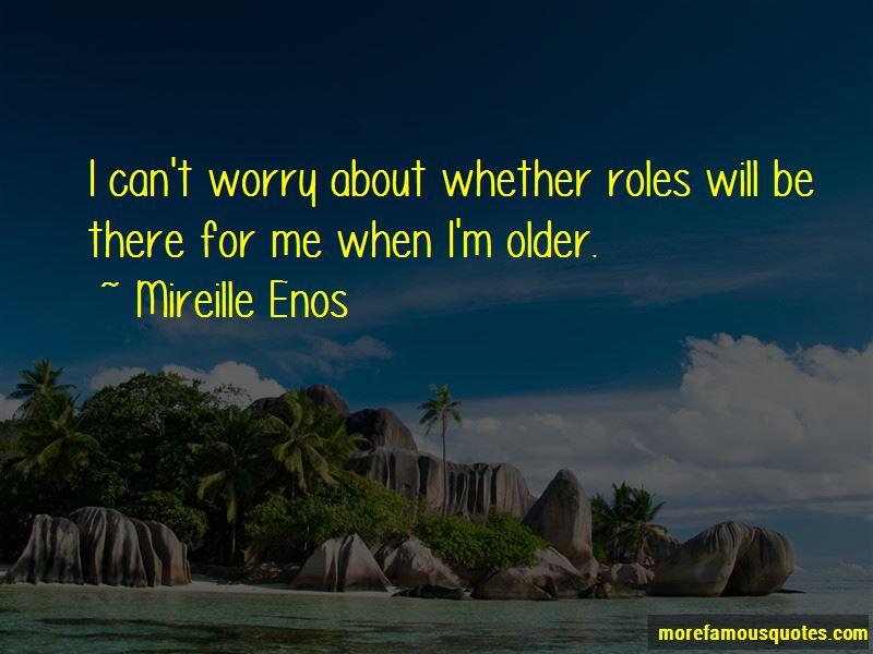Mireille Enos Quotes