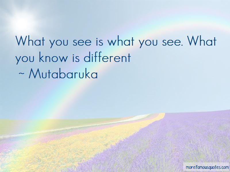 Mutabaruka Quotes