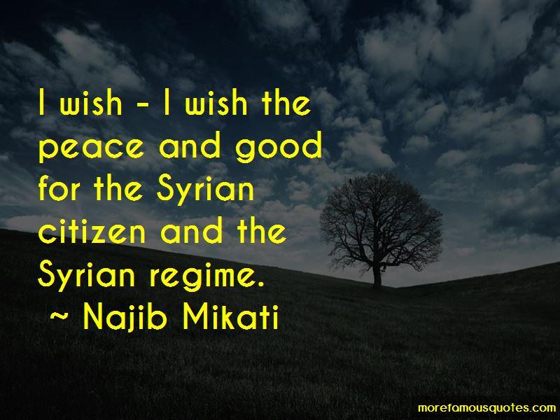 Najib Mikati Quotes