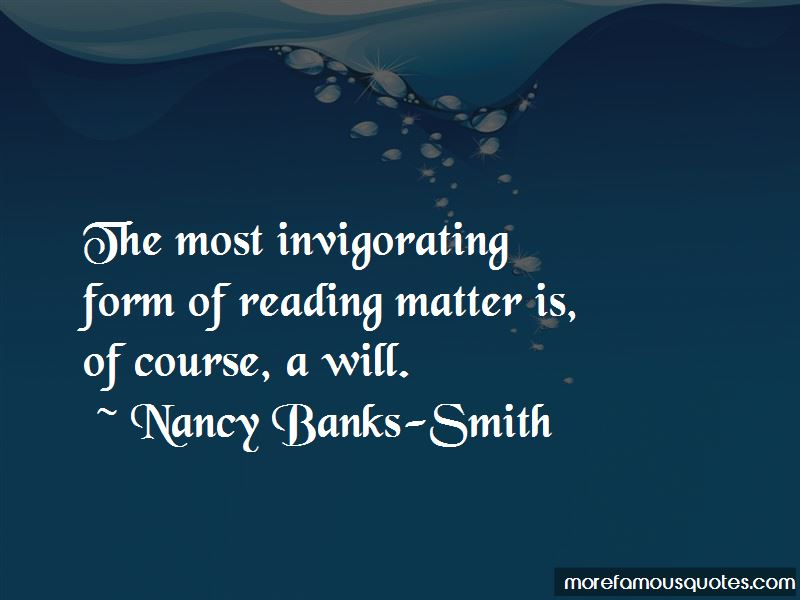 Nancy Banks-Smith Quotes