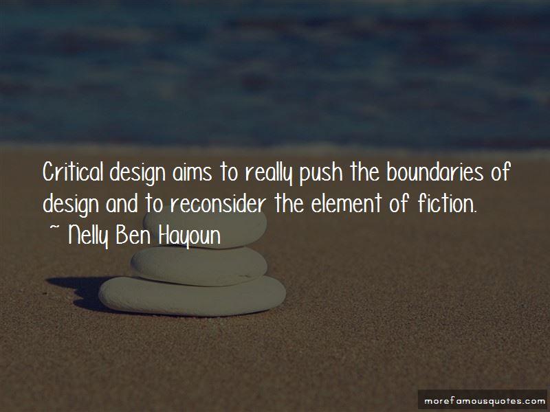 Nelly Ben Hayoun Quotes