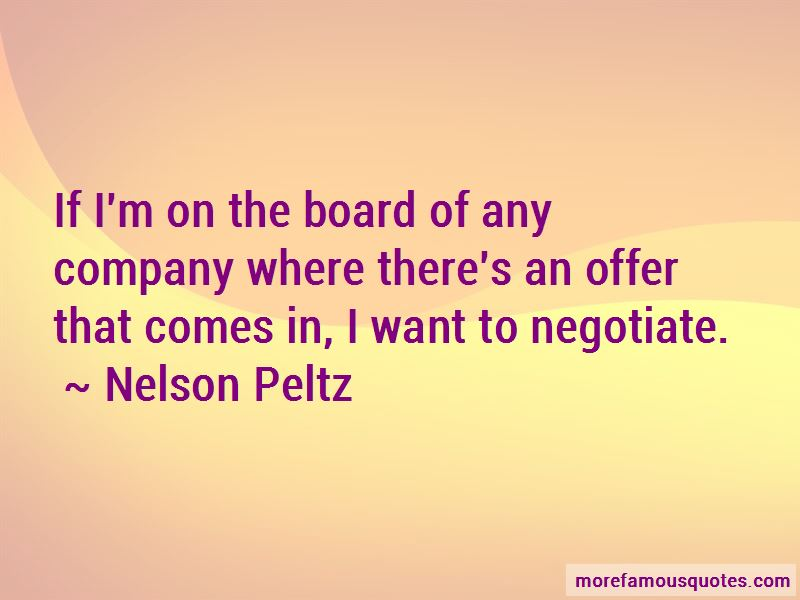 Nelson Peltz Quotes Pictures 3