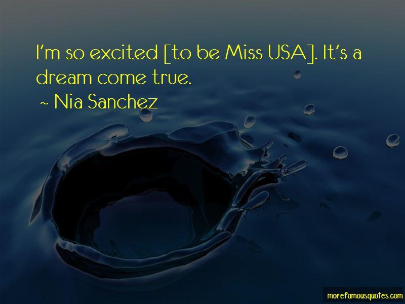 Nia Sanchez Quotes Pictures 2