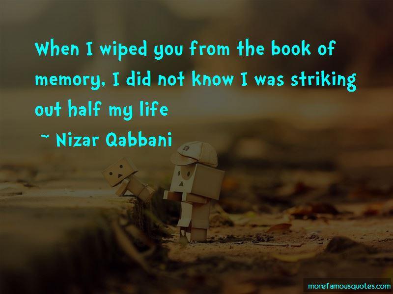 Nizar Qabbani Quotes