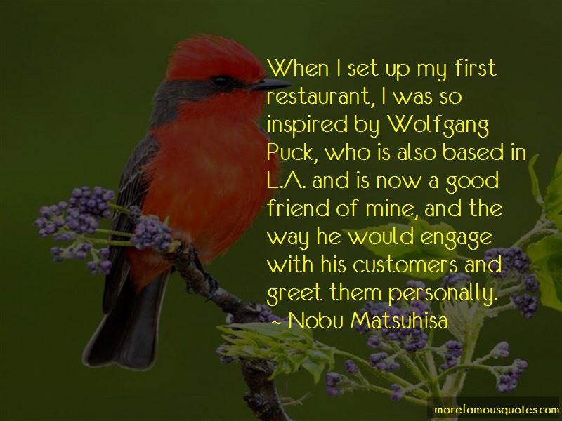 Nobu Matsuhisa Quotes