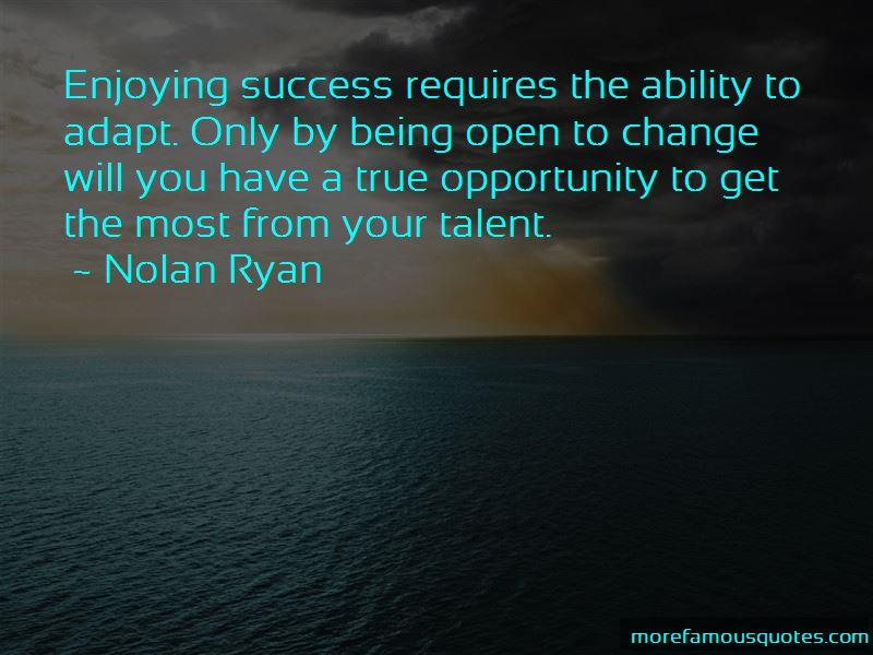 Nolan Ryan Quotes