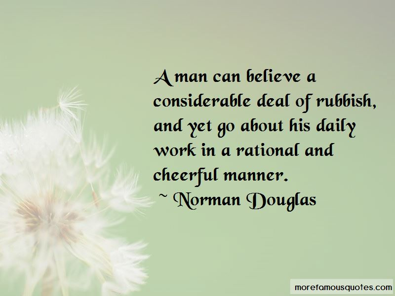 Norman Douglas Quotes