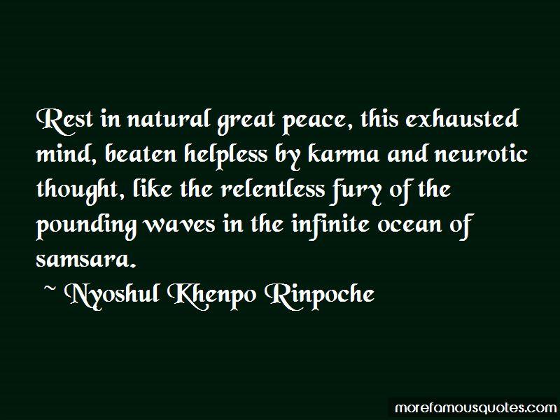 Nyoshul Khenpo Rinpoche Quotes