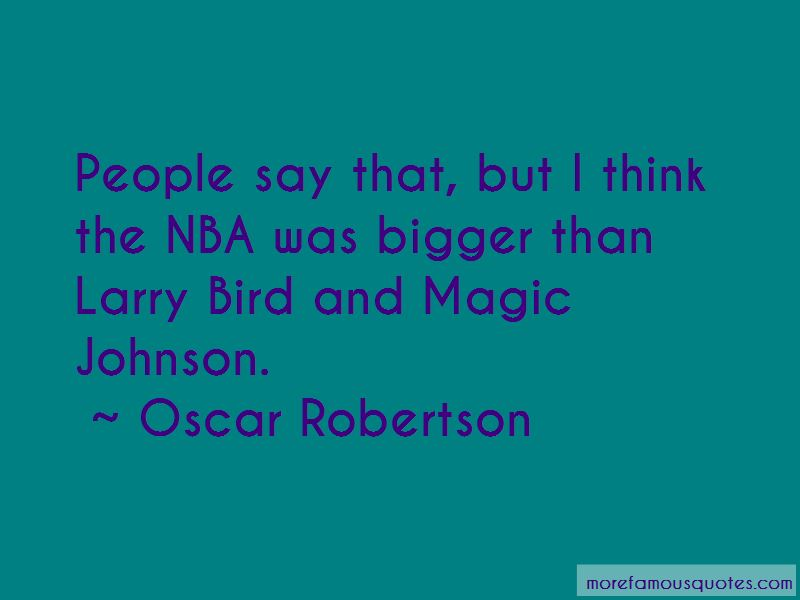 Oscar Robertson Quotes Pictures 3