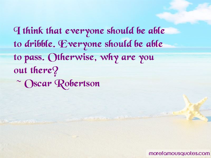 Oscar Robertson Quotes Pictures 4