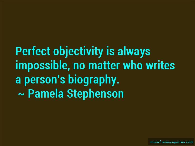 Pamela Stephenson Quotes Pictures 4