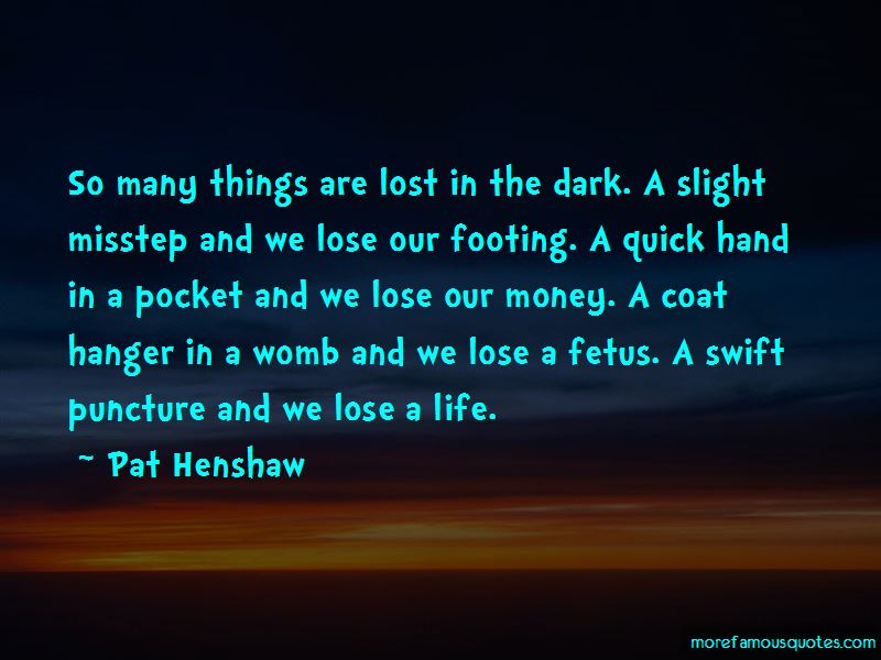 Dr mr henshaw quotes
