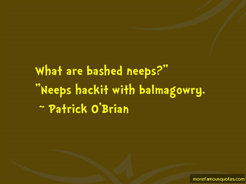 Patrick O'Brian Quotes Pictures 3