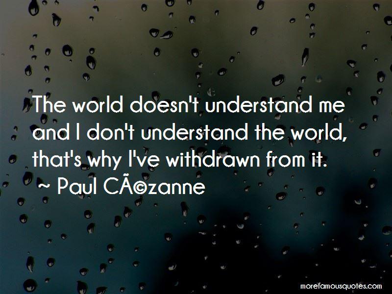 Paul-Cezanne Quotes Pictures 2