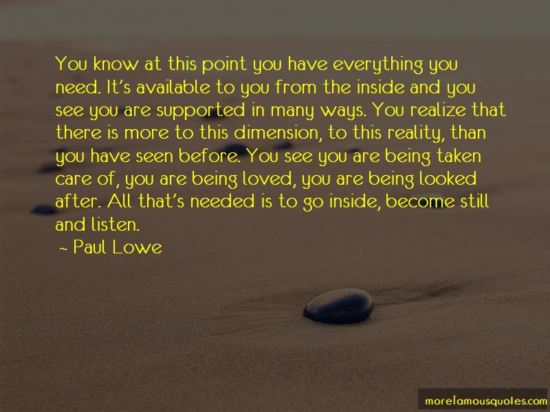 Paul Lowe Quotes Pictures 3