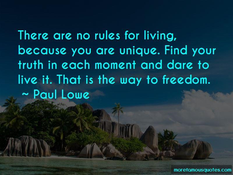 Paul Lowe Quotes