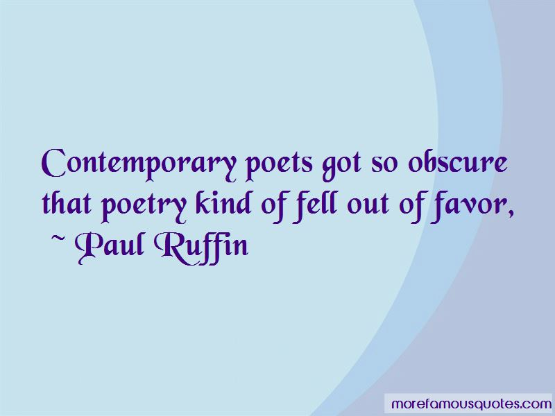 Paul Ruffin Quotes