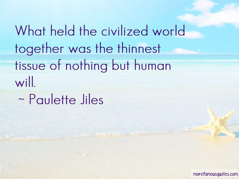 Paulette Jiles Quotes