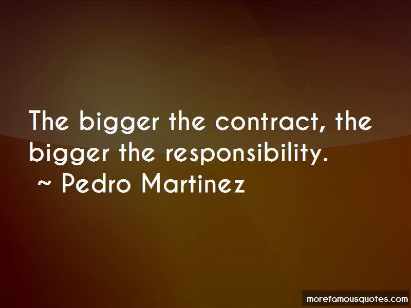 Pedro Martinez Quotes