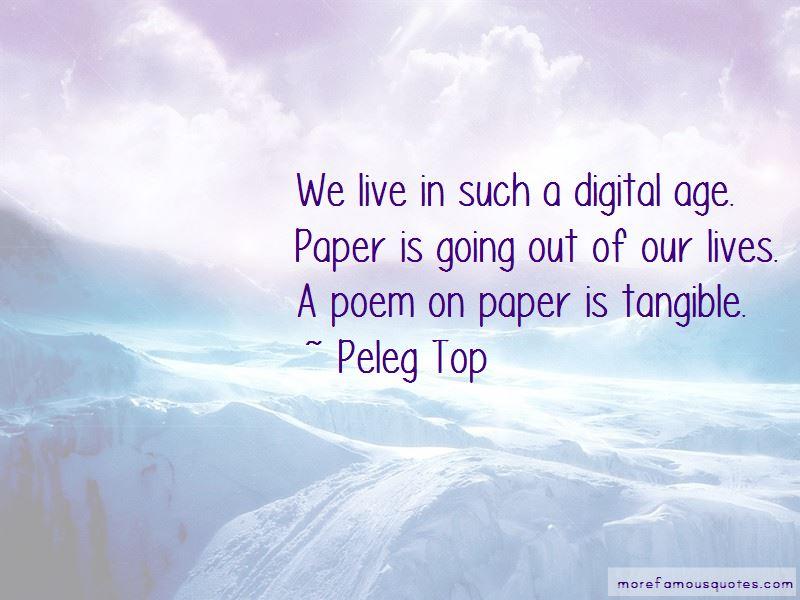 Peleg Top Quotes