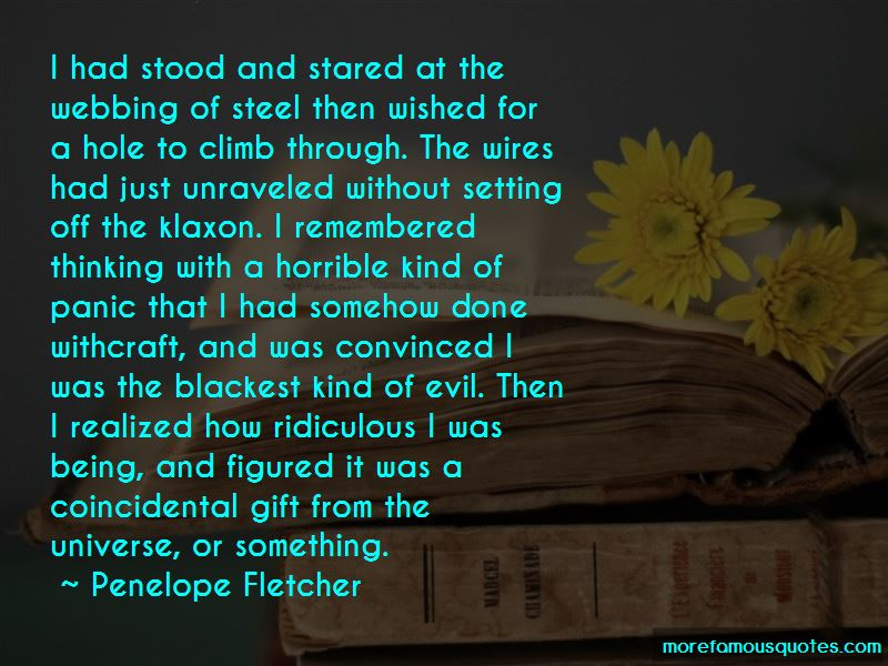 Penelope Fletcher Quotes Pictures 2