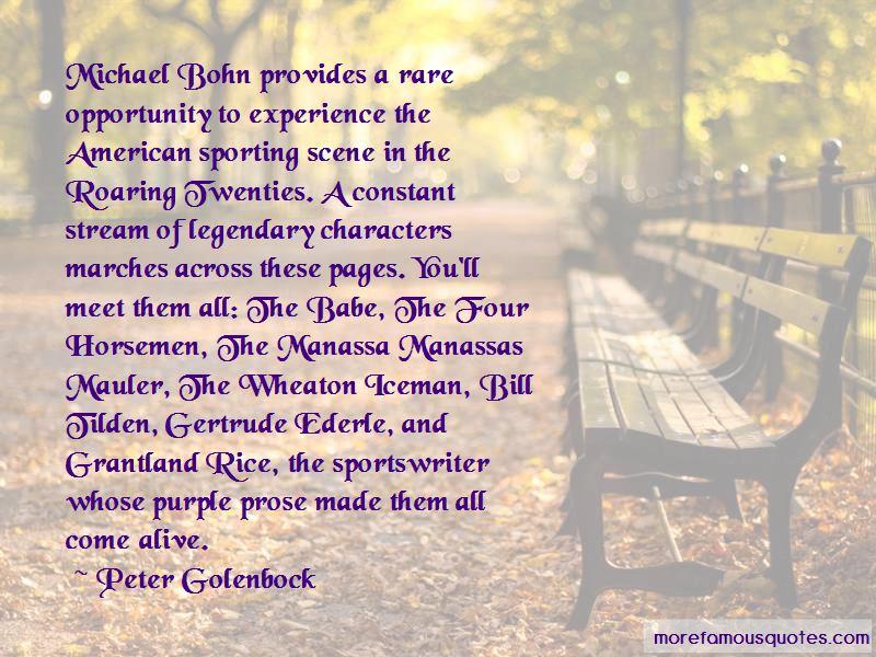 Peter Golenbock Quotes