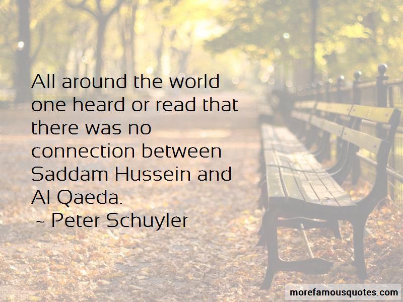 Peter Schuyler Quotes