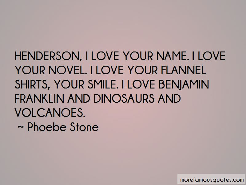 Phoebe Stone Quotes Pictures 2