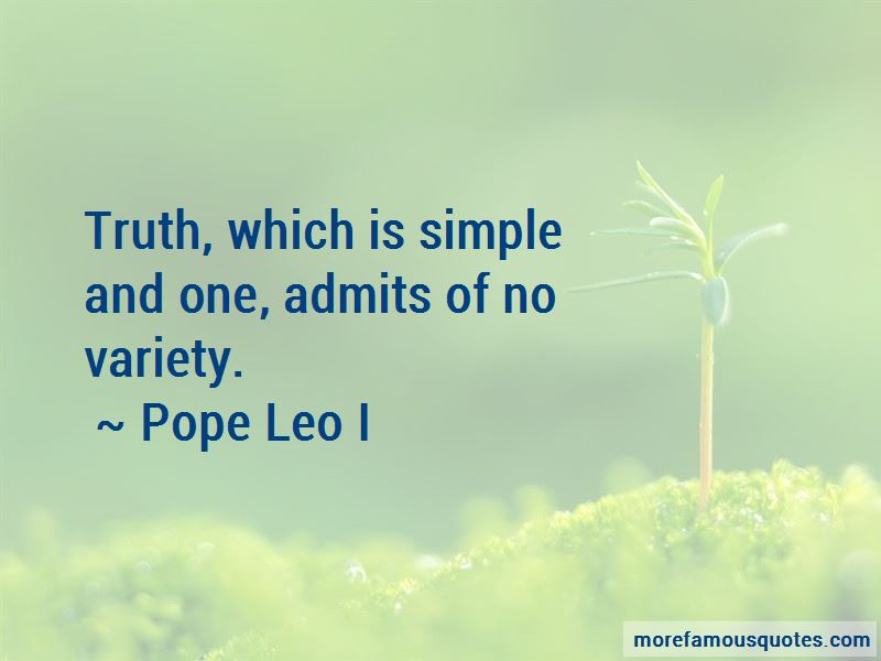 Pope Leo I Quotes Pictures 2