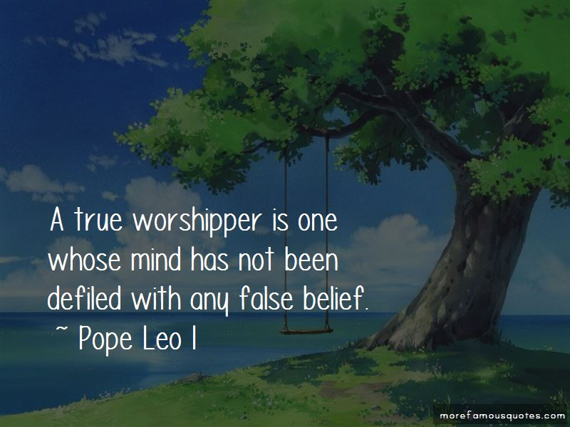 Pope Leo I Quotes Pictures 3