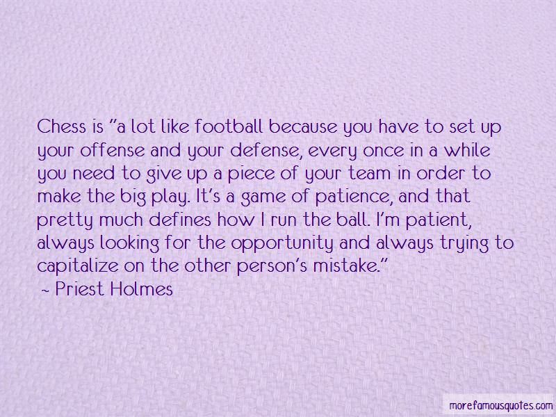 Priest Holmes Quotes Pictures 3