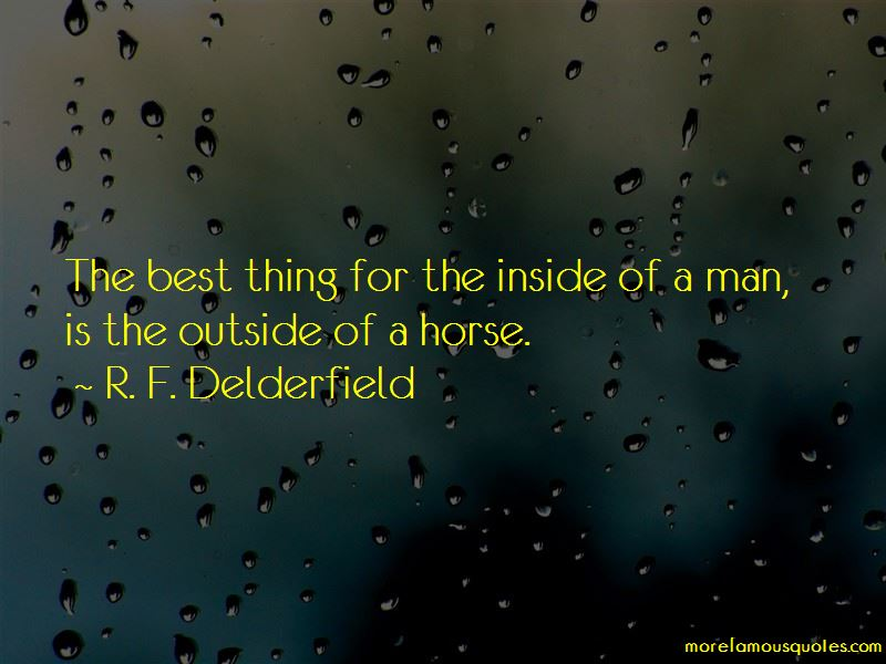 R. F. Delderfield Quotes Pictures 4
