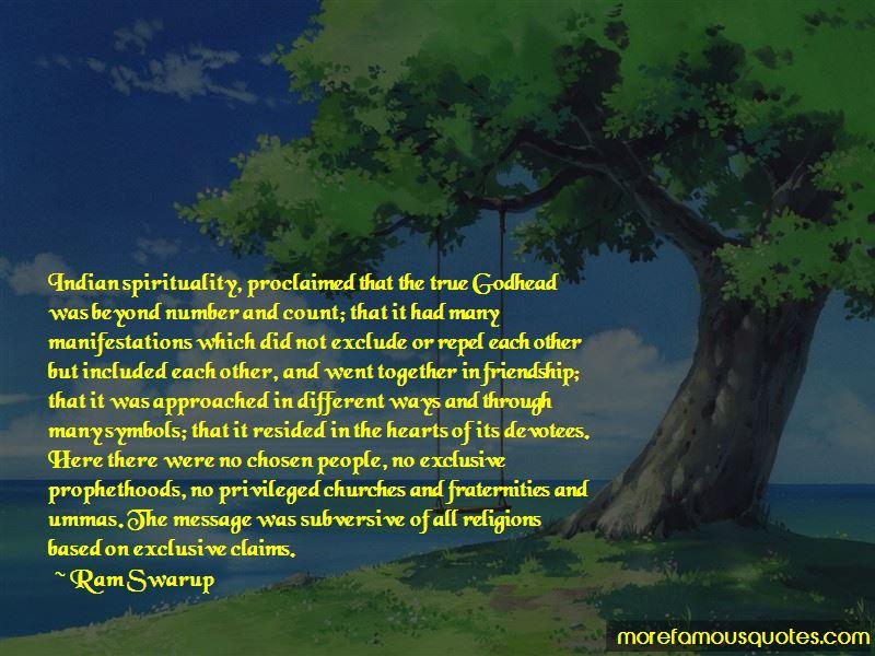 Ram Swarup Quotes